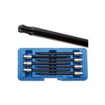 """BGS-8618 Gömbfejű Torx kulcs készlet T10-T40 7 részes 1/4"""""""