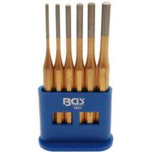 BGS-1651 Stift kiütő készlet,  6 részes, 3-8 mm, 150 mm