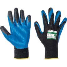 Cerva Free Hand Garrulus védőkesztyű, PES-latex, 8