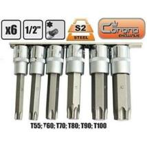 """Corona Behajtó készlet TORX T55 - T100 1/2"""" C6920"""