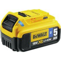 DeWalt DCB184B XR akkumulátor, 18V, 5Ah