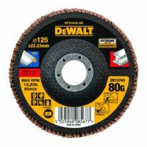 DeWalt DT30622 Extreme lamellás csiszolótárcsa, 125mm, 80G
