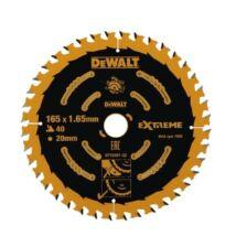 DeWalt DT10301 Extreme körfűrészlap, 40 fog, 165mm