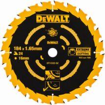 DeWalt DT10302 Extreme körfűrészlap, 24 fog, 184mm
