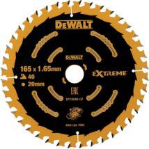 DeWalt DT10640 Extreme fűrészlap, 40 fog, 165mm