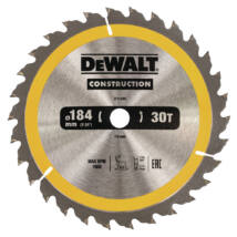 DeWalt DT1940 ipari körfűrészlap, 30 fog, 184mm