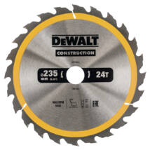 DeWalt DT1954 ipari fűrészlap, 24 fog, 235mm