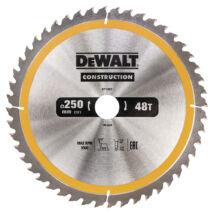 DeWalt DT1957 fűrészlap, 48 fog, 250mm