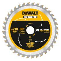 DeWalt DT99566 XR körfűrészlap, 36 fog, 210mm
