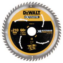 DeWalt DT99567 XR körfűrészlap, 60 fog, 210mm