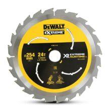 DeWalt DT99571 XR körfűrészlap, 24 fog, 250mm