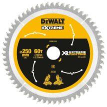 DeWalt DT99573 XR körfűrészlap, 60 fog, 250mm