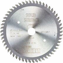 DeWalt DT1087 merülőfűrészlap, 54 fog, 165mm