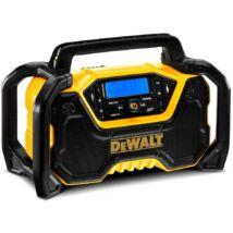 DeWalt DCR029 XR akkus rádió, Bluetooth-os, 18/54V (akku és töltő nélkül)