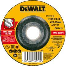 DeWalt DT43916 tisztítókorong fémre, 115x6mm
