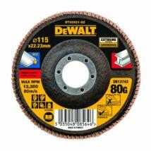 DeWalt DT30621 Extreme lamellás csiszolótárcsa, 115mm, 80G