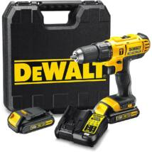 DeWalt DCD776C3 XR akkus ütvefúró- csavarozó, 18V, 1.5-13mm, 42Nm (3db 1.3Ah akkuval és töltővel)
