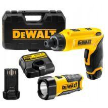 DeWalt DCF680G2F akkus rúdcsavarozó, 7.2V (2db 1Ah akkuval és töltővel)