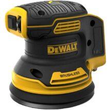 DeWalt DCW210N XR akkus excentercsiszoló, 18V, 125mm (akku és töltő nélkül)
