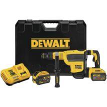 DeWalt DCH614X2 XR akkus fúró-vésőkalapács, SDS-Max, 18V, 10.5J (2 db 9.0Ah akkuval és töltővel)