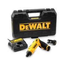 DeWalt DCF680G2 XR akkus csavarozó, 7.2V, 6.35mm, 4Nm (2db 7.2V akkuval és töltővel)