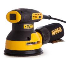 DeWalt DWE6423 excentercsiszoló, 280W, 125mm