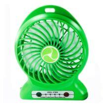Hordozható akkumulátoros ventilátor 4W ZDL-F68