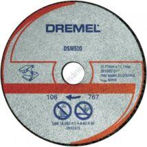 DREMEL DSM20 fém és műanyag vágókorong
