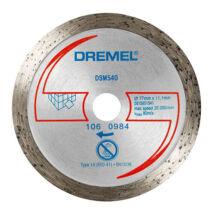 DREMEL® DSM20 gyémánt padlólapvágó korong (DSM540)