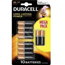 Duracell AA 1,5V-os ceruza elem MEGA PACK (10db-os)