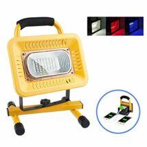 Akkus LED reflektor (munkalámpa) 50W