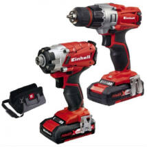 Einhell TE-TK 18 Li Drill & Driver Kit szett Power X-Change