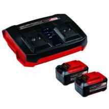 Einhell Twincharger Kit 2db 5.2Ah akku és dulpa töltő készlet