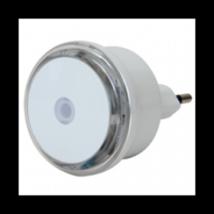 LED-es éjszakai irányfény alkonykapcsolóval, ki-be kapcsolás (230V)