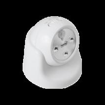 LED-es mozgásérzékelős forgatható lámpa (fehér)