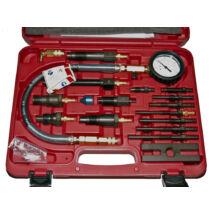 Ellient Tools kompresszió tesztelő készlet diesel motorhoz, 17 db-os