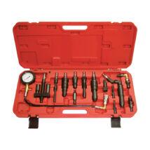 Ellient Tools kompresszió tesztelő készlet diesel motorhoz, 13 db-os