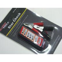 Ellient Tools akkumulátor teszter, LED kijelzős