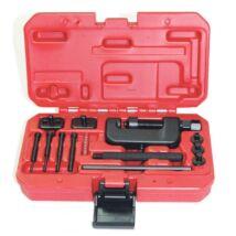 Ellient Tools lánc szétnyomó és szegecselő szerszámkészlet, 14 db-os