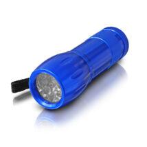 Erba kék alumínium LED zseblámpa 12 LED-es