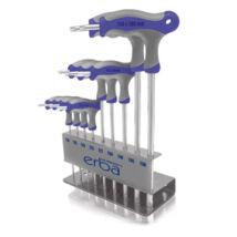 Erba Torxkulcs készlet T-fogantyúval T10-T50 (10 részes)