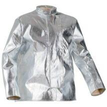 Coverguard EP aluminizált védőkabát, hő- és vágásbiztos, ezüst, 80cm