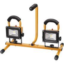 Extol hordozható LED munkalámpa, 2×10 W, reflektor