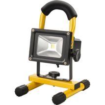 Extol hordozható LED munkalámpa (reflektor), 10W, 800 lm, Li-ion akkus tölthető