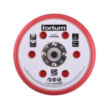 Fortum gumi talp rotációs csiszológéphez, 6+16 db lyuk, tépőzáras, 12.000 f/perc, vastagság:10mm
