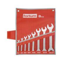 Fortum Kettős villáskulcs készlet, 6-24 mm, 8 részes