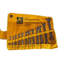 GK Tools csillag-villás kulcs készlet, 6-22 mm, 12 db-os