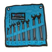 GK Tools - Elite csillag-villás kulcs készlet, csúszásmentes, 8-19 mm, 8 db-os