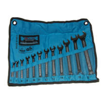 GK Tools - Elite csillag-villás kulcs készlet, csúszásmentes, 6-22 mm, 12 db-os
