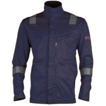 Coverguard Thor Xpert MR hegesztő kabát, láng- és íválló, kék, S